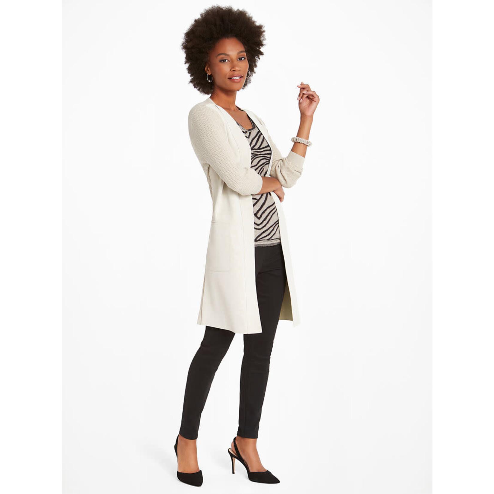 Nic+Zoe Royal Impression Jacket w/ Vegan Leather Front