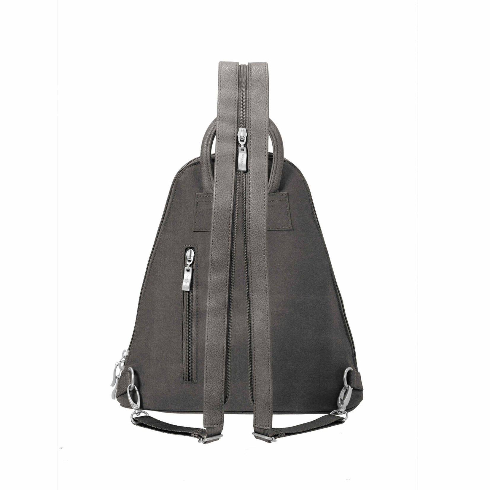 Metro Backpack with RFID Wristlet in Sterling Shimmer