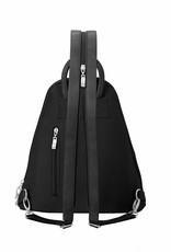Metro Backpack with RFID Wristlet in Black