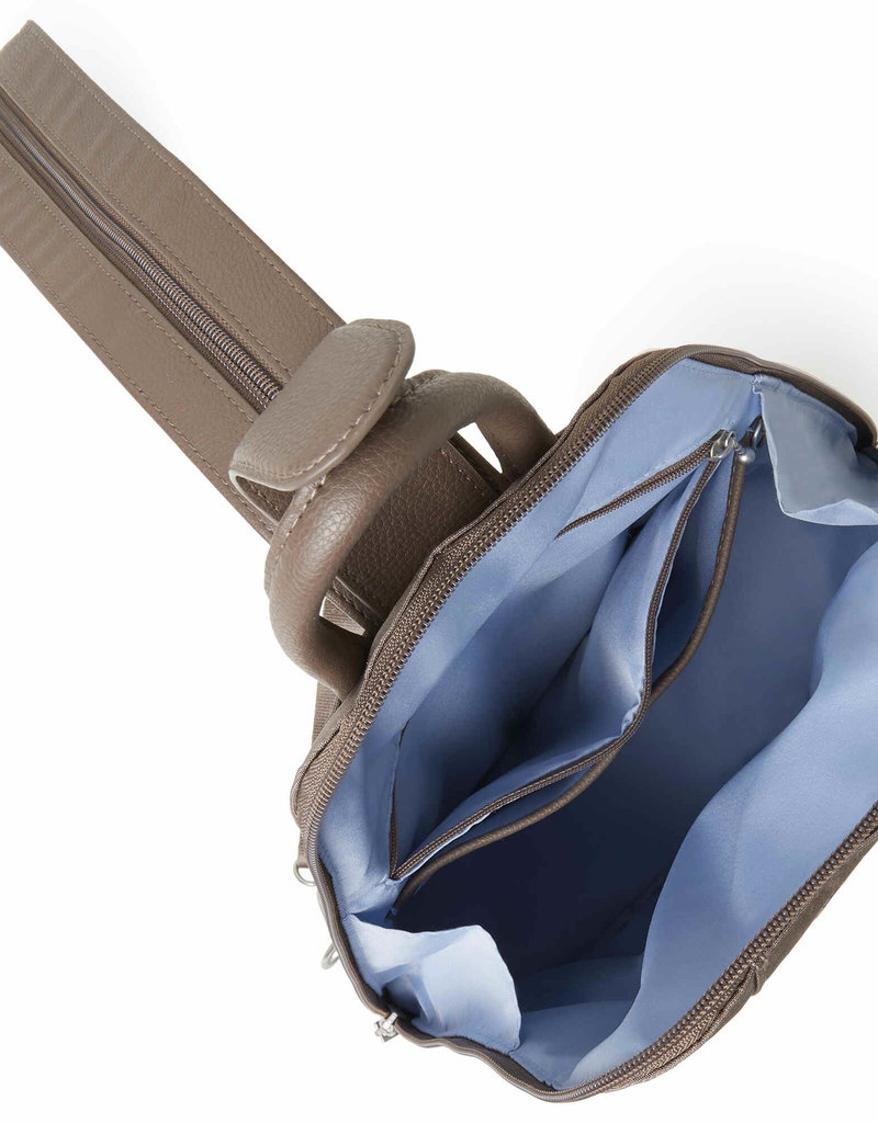 Metro Backpack with RFID Wristlet in Portobello Shimmer