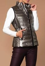 Bronze Nylon Puffy Vest
