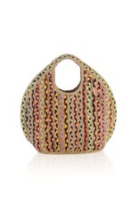 Shiraleah Chicago Mirabel Roundie Multicolor Shopper
