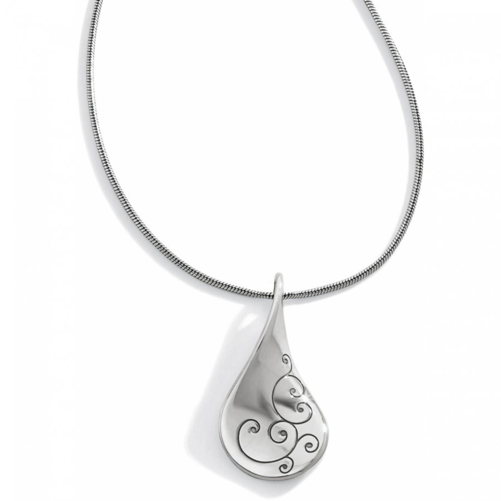Brighton Twirl Necklace Silver