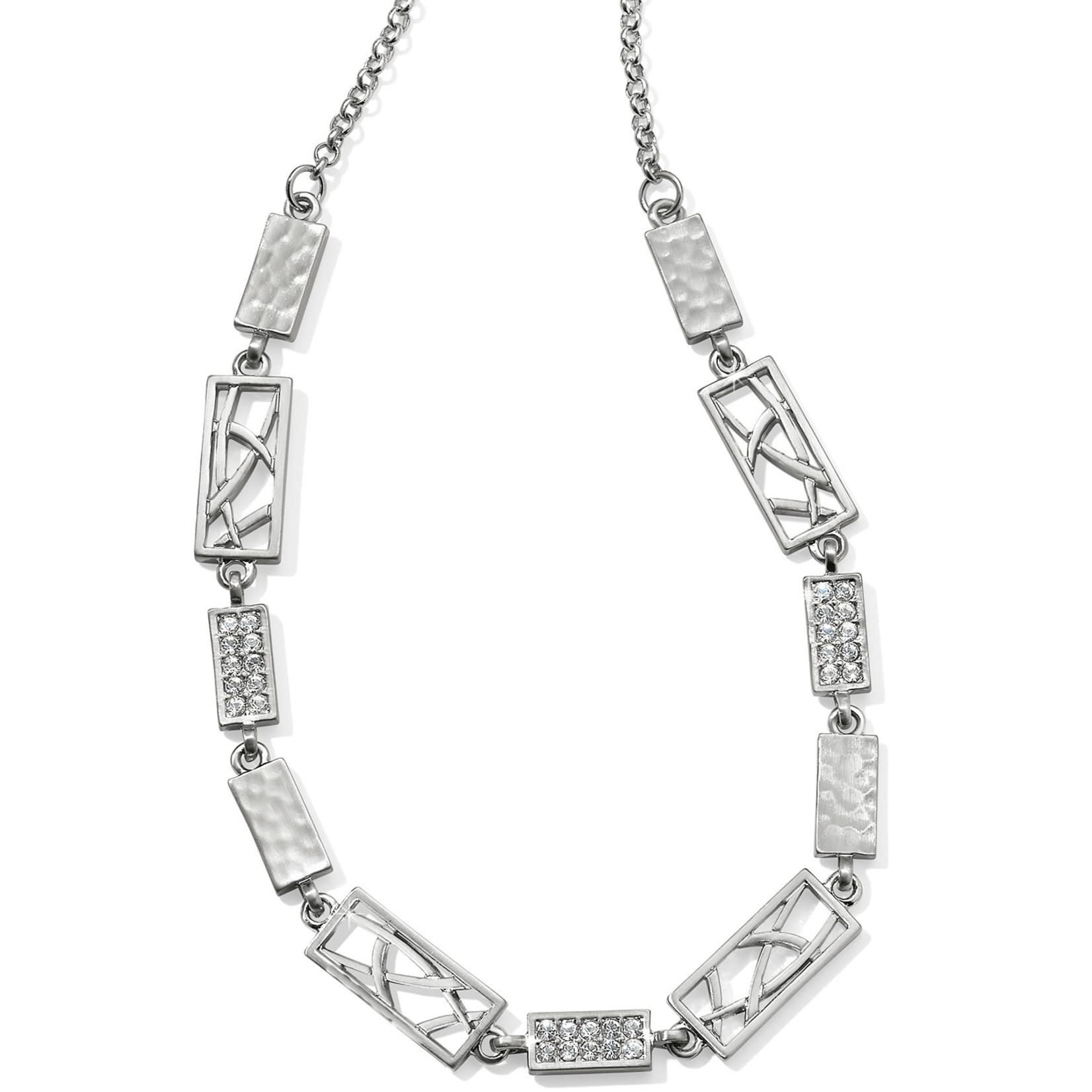 Brighton Meridian Zenith Choker Necklace Silver