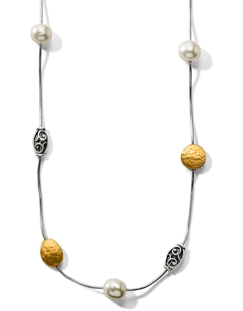 Brighton Mediterranean Pearl Long Necklace Cream