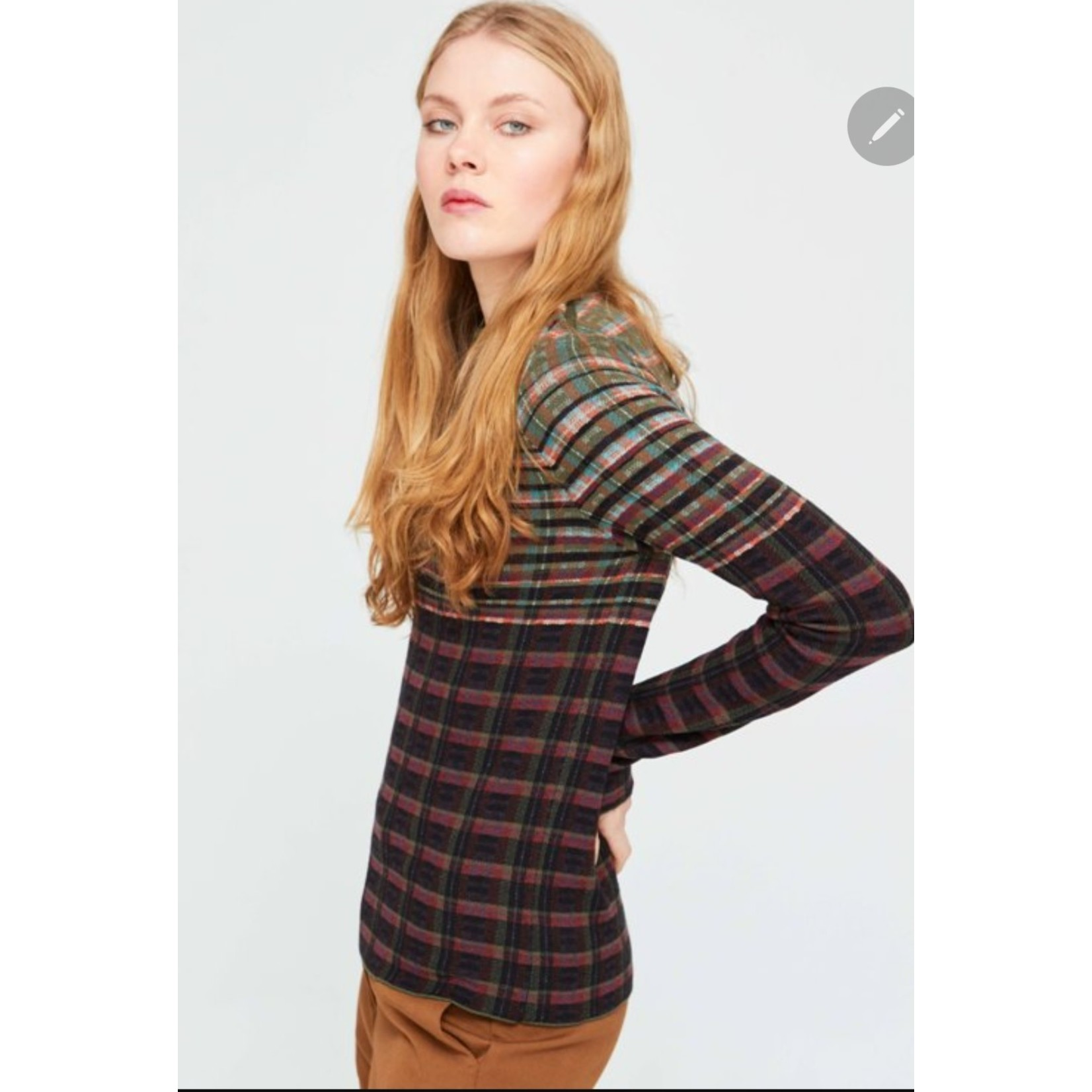 Baku Knit Stripe Sweater