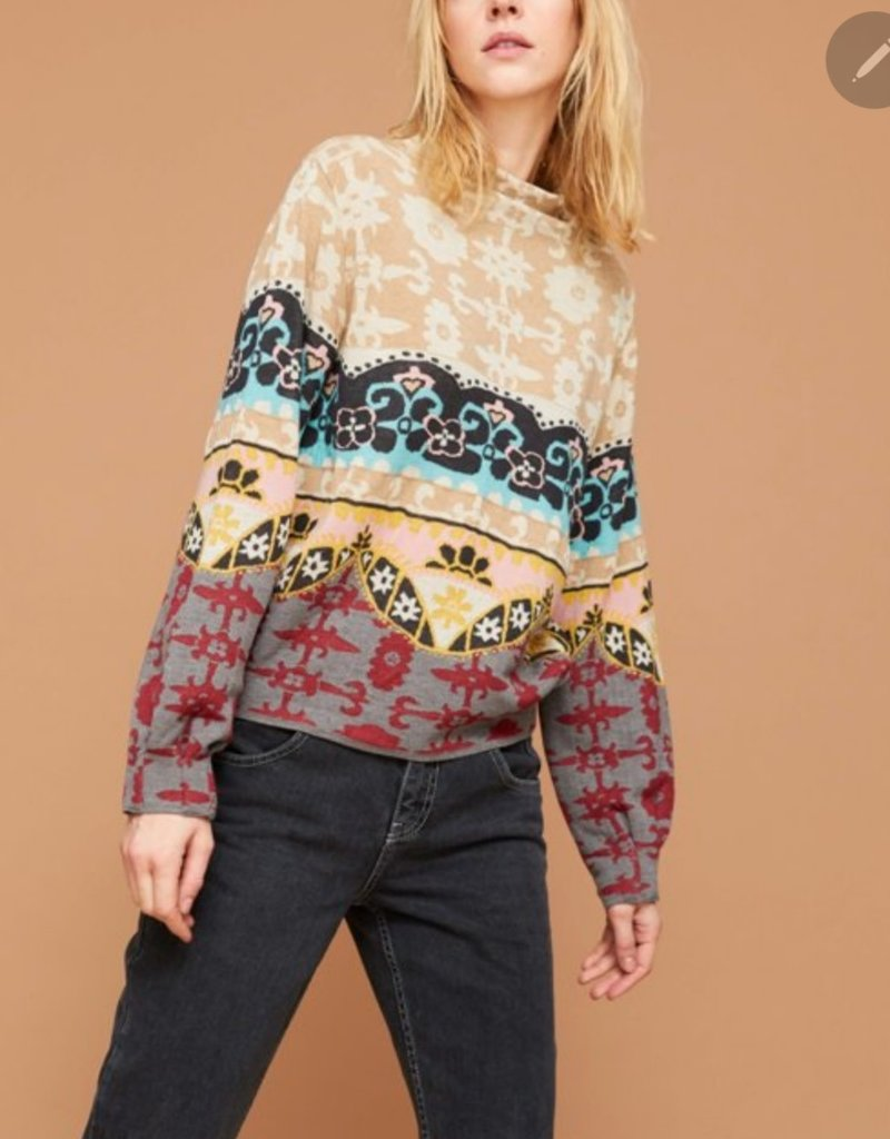 Aldo Martins Knit Sweater in Multi Patterns