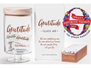 Gratitude Glass Jars