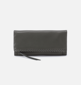 HOBO Wade Large Trifold Wallet in Sage Brush