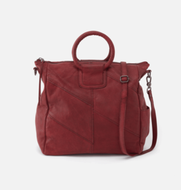 HOBO Sheila Red Leather Tote