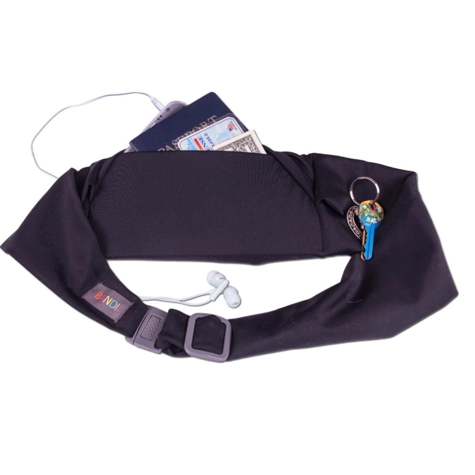 BANDI Wear Large Pocket Belt Black