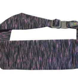 BANDI Wear Large Pocket Belt Strata Black/Fuchsia