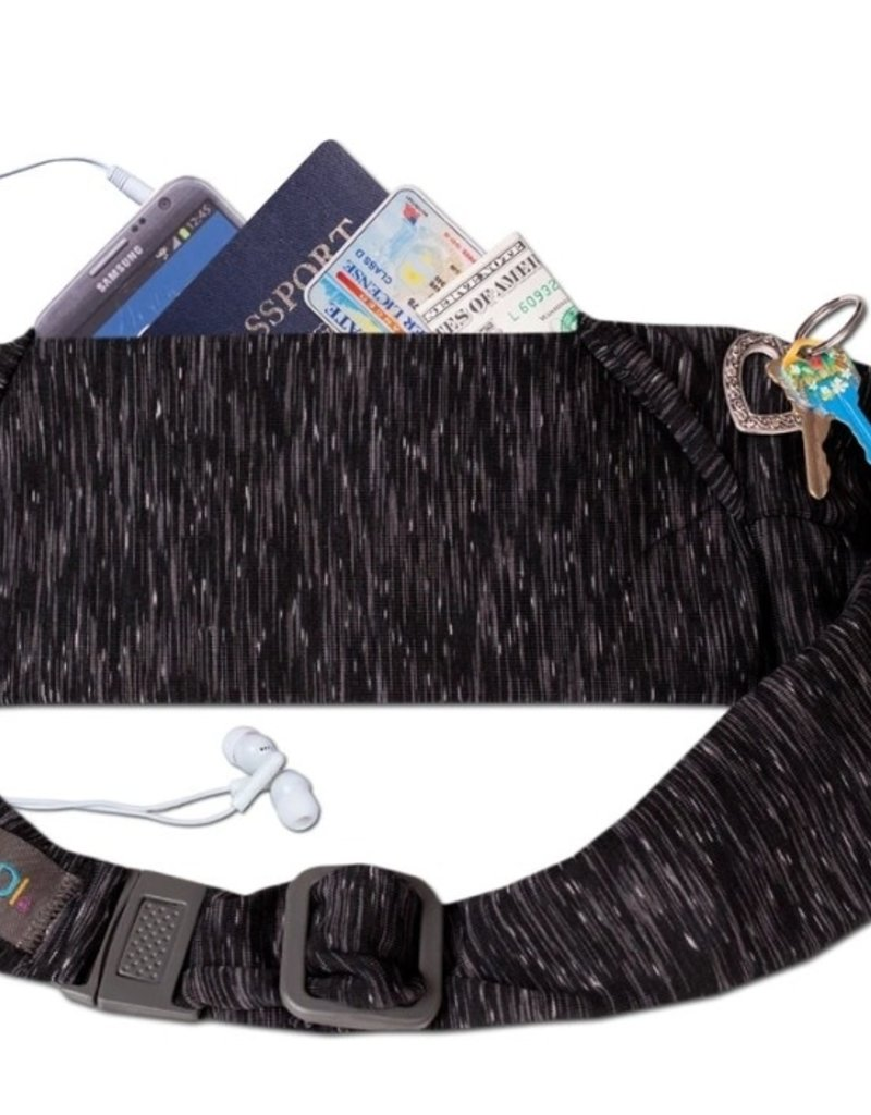 BANDI Wear Large Pocket Belt Strata Black/Grey