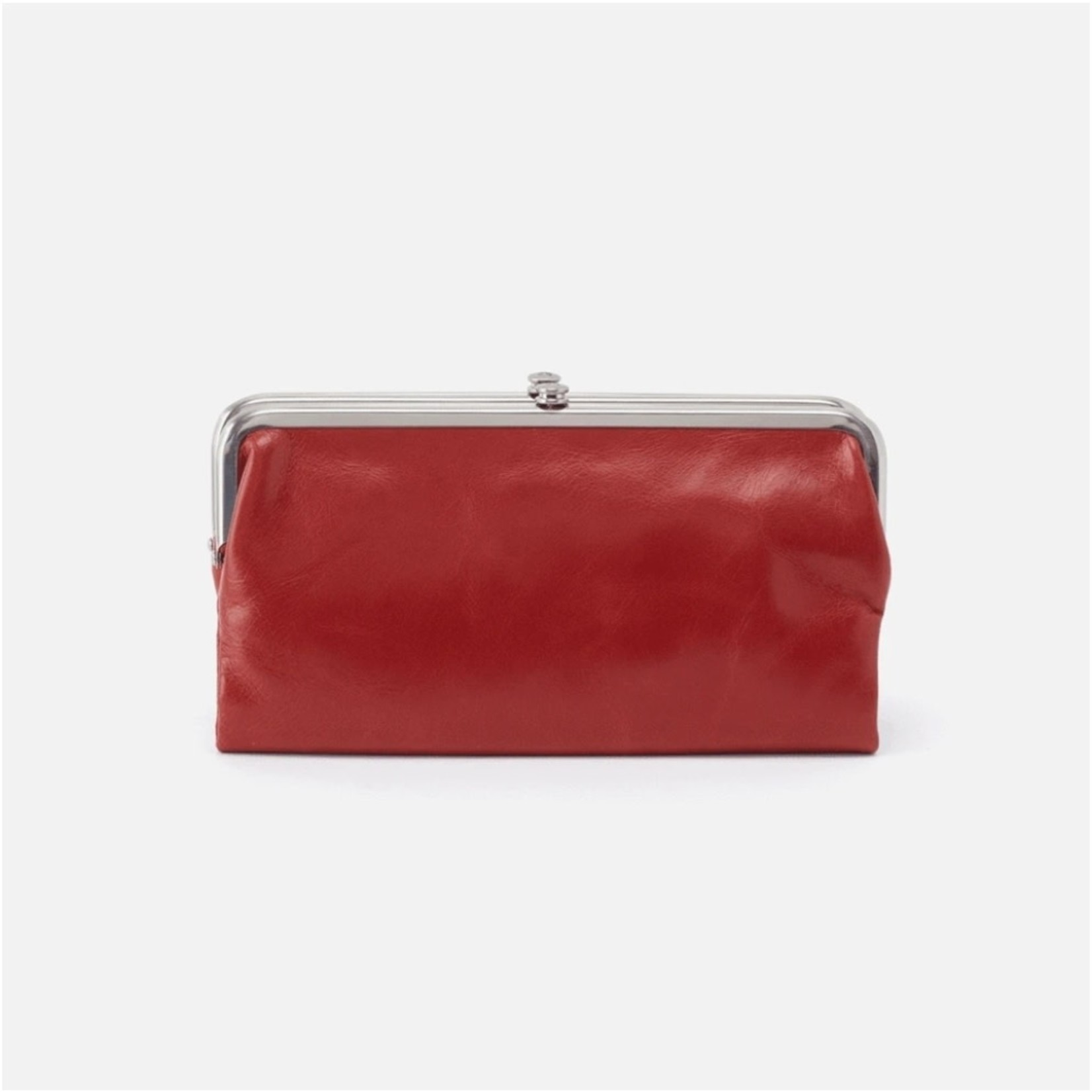 HOBO Lauren Brick Vintage Hide Leather Wallet/Clutch