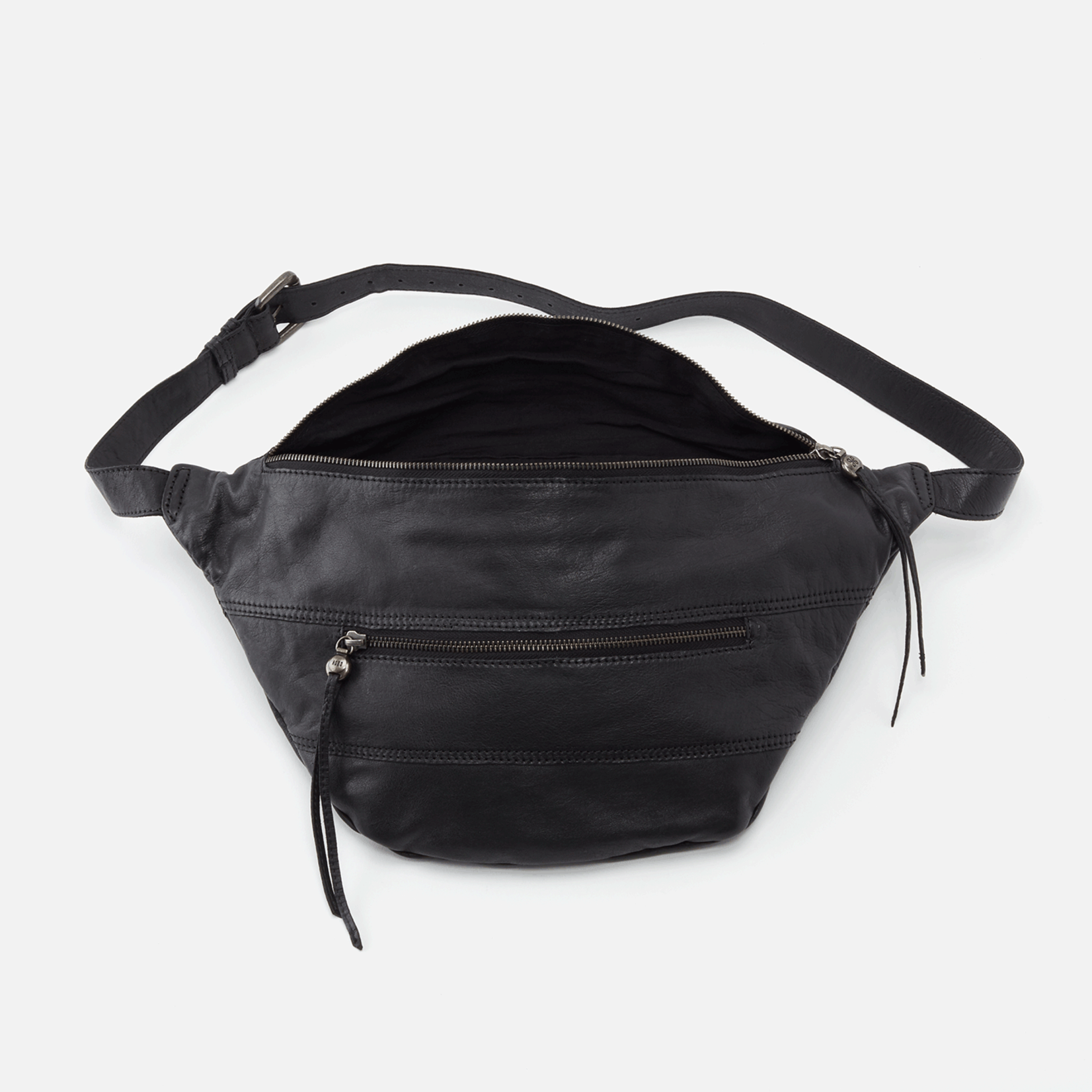 HOBO Roadster Belt Bag Sling in Black
