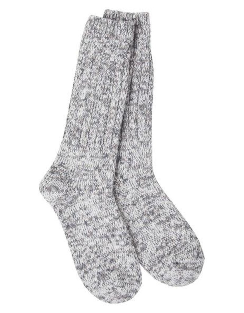 World's Softest World's Softest Weekend Collection – Ragg Crew Socks- Rocky