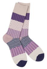 World's Softest World's Softest Weekend Collection – Gallery Crew Socks - Madeline