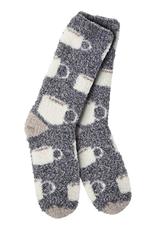 World's Softest Weekend Collection – Knit Pickin' Fireside Crew Socks- Java