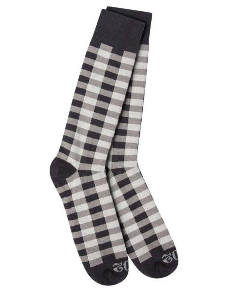 World's Softest World's Softest 1902 Transit Crew Socks - Buffalo Check