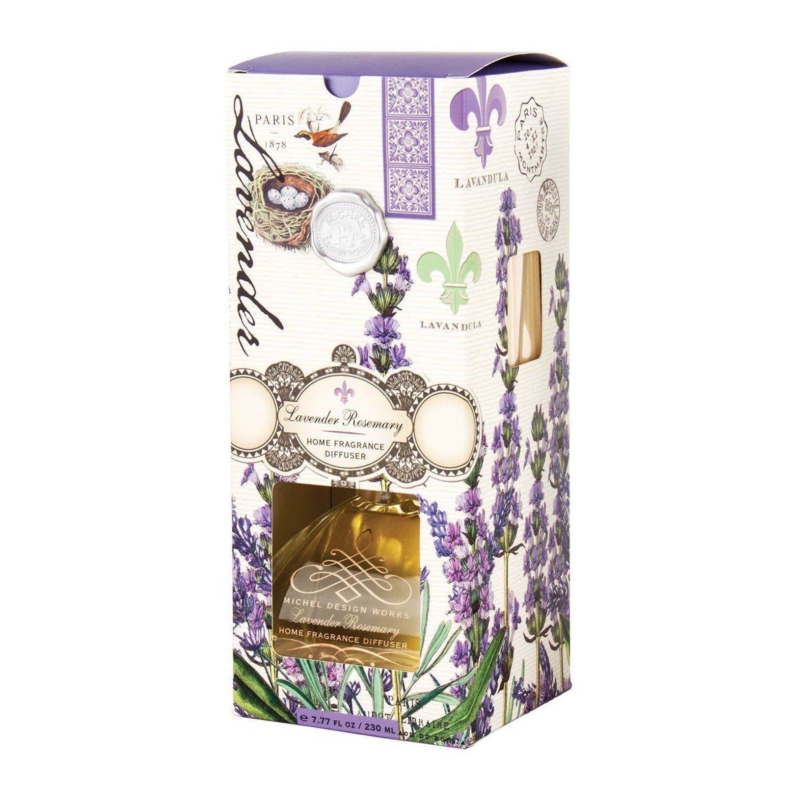 Michel Design Works Lavender Rosemary Home Fragrance Diffuser