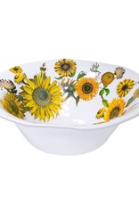 Sunflower Melamine Large Bowl
