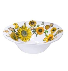 Sunflower Melamine Large Bowl