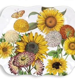 Sunflower Melamine Serving Tray