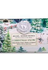 Christmas Snow Large Bar Soap