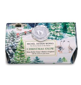 Christmas Snow Large Bar Soap