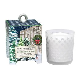 Christmas Snow 6.5 oz Soy Wax Candle