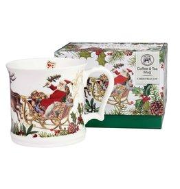 Christmas Joy Bone China Boxed Mug