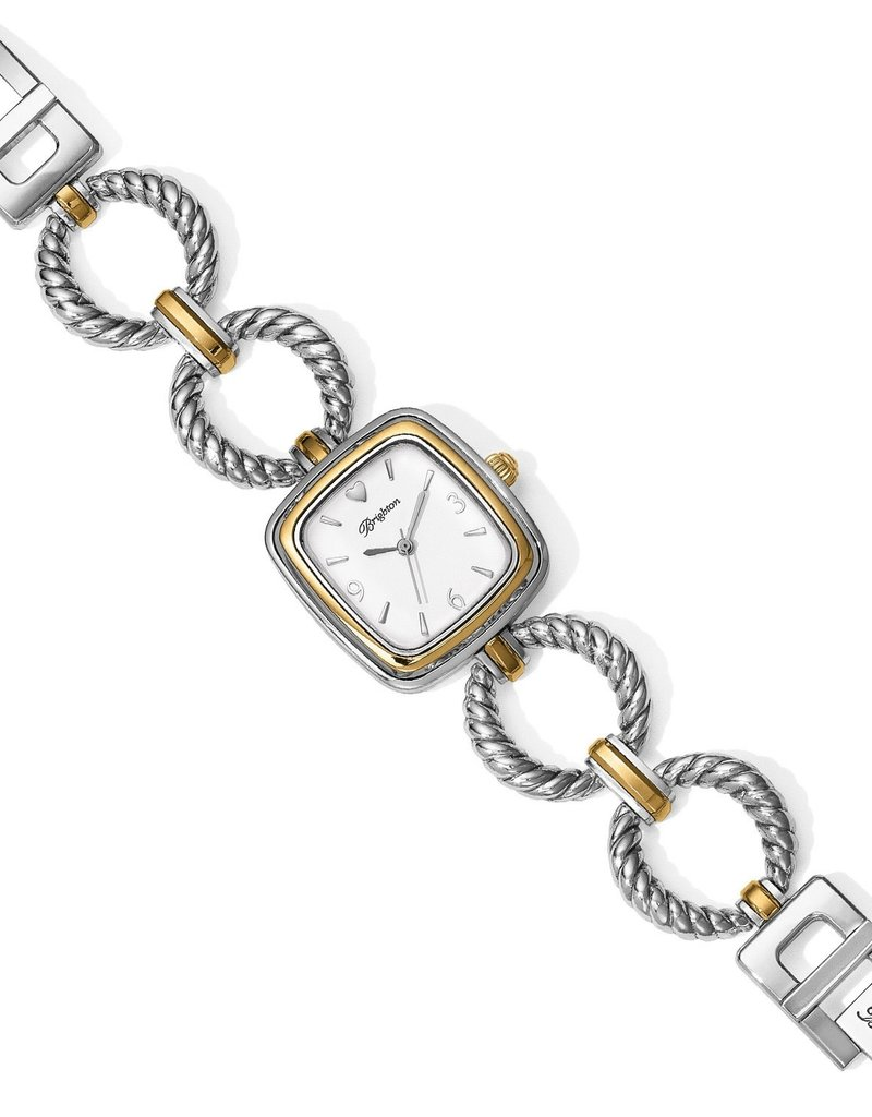 Brighton Kindred Watch; Size : Silver-Gold