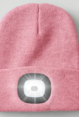 Rechargable LED Beanie - Pink