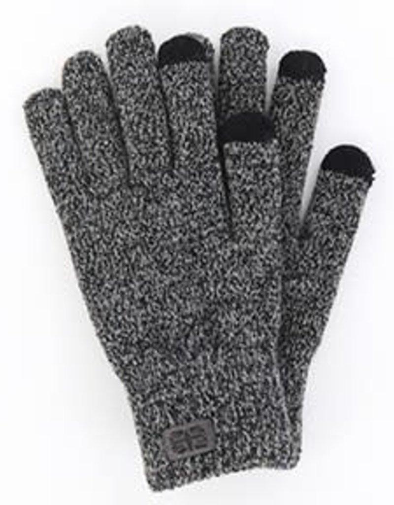 Britt's Knits Men's Frontier Gloves - Gray