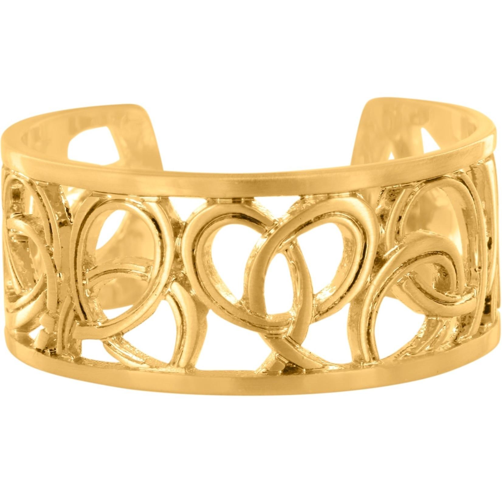 Brighton Christo Vienna Narrow Ring in Gold
