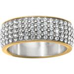 Brighton Ring/Meridian/2TN/Gold/SmallFauxDiamonds