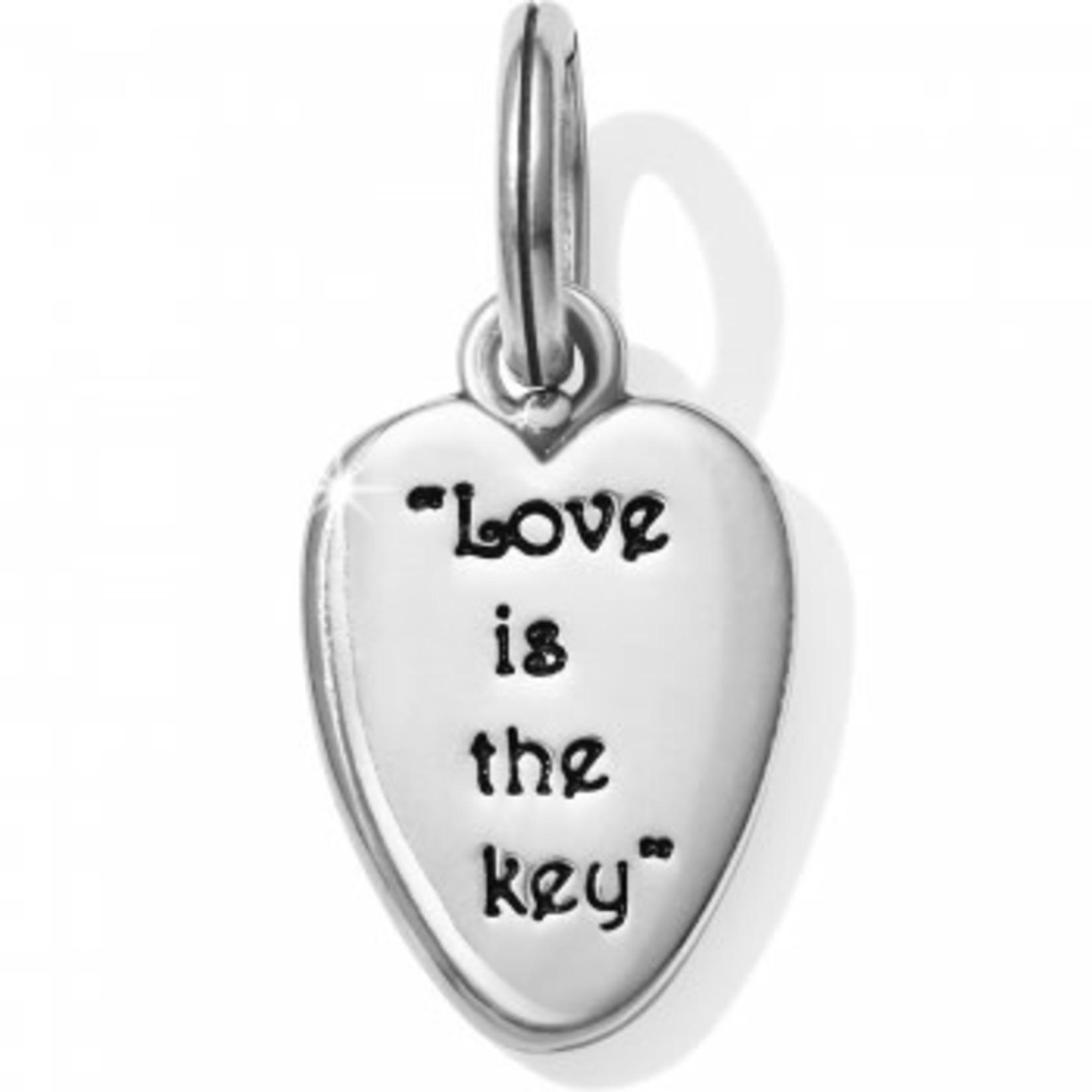 Brighton Love Is The Key Amulet