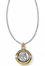 Brighton Cherub Petite Necklace Silver-Gold