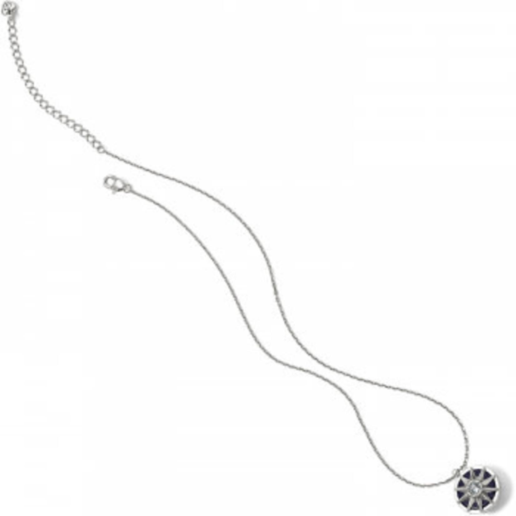 Brighton Halo Stargazer Polaris Necklace; Size : Silver-Blue