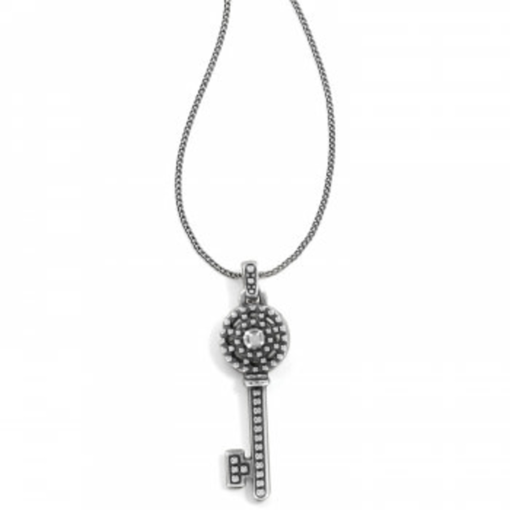 Brighton Illumina Petite Key Necklace; Size : Silver