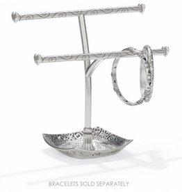Brighton Lacie Daisy Bangle Holder; Size : Silver