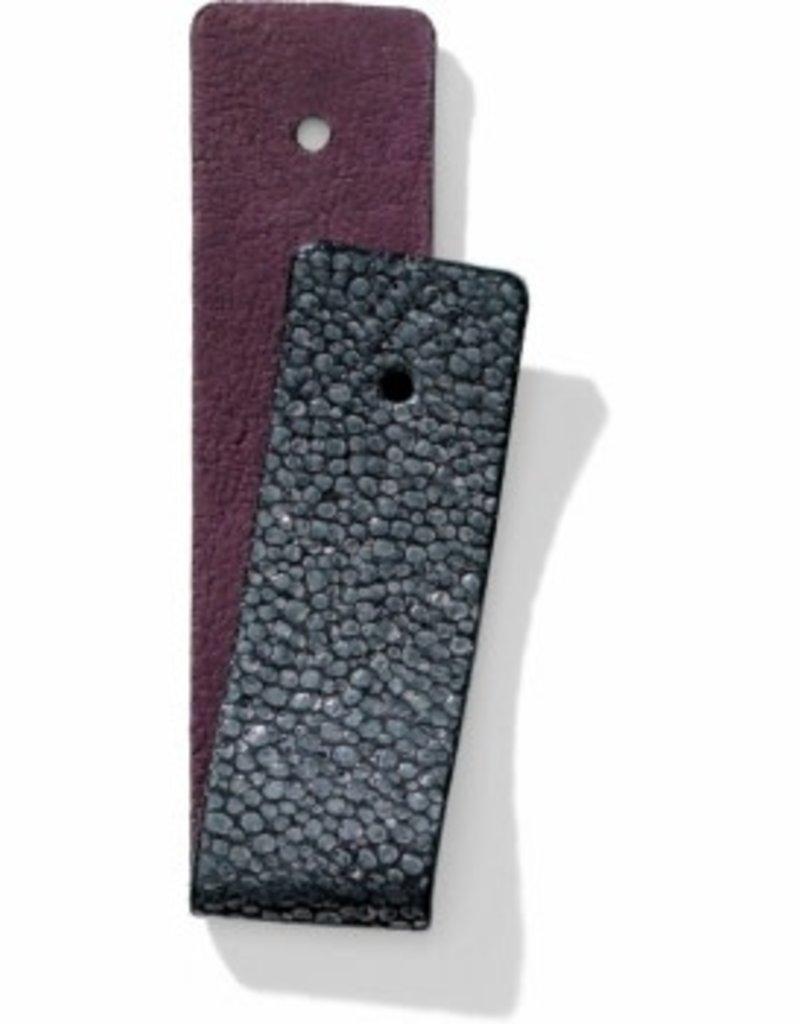 Brighton 61999 Leather/CuffNW Bk Crbn/Plum