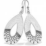 Brighton Marrakesh Mystique French Wire Earrings Silver