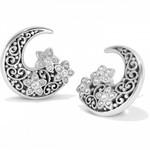 Brighton Baroness Fiori Post Earrings Silver