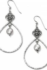Brighton Interlok Knot Loop French Wire Earrings