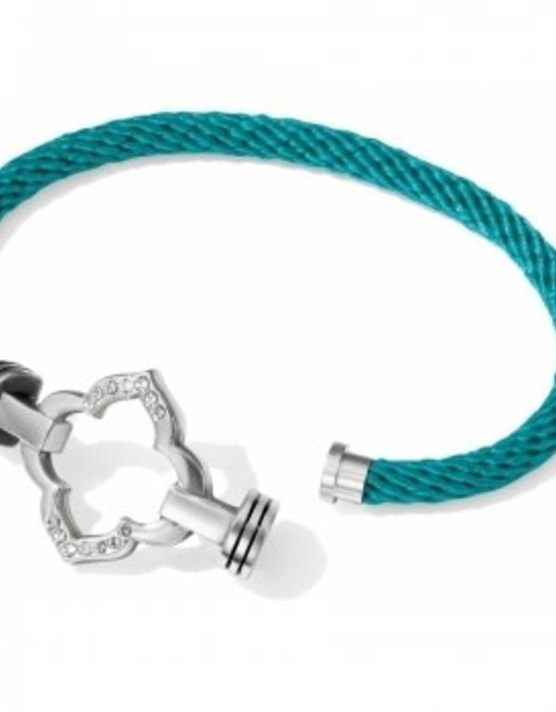 Brighton 61962 Bracelet/ClrCrd/Teal/Infnty/ML