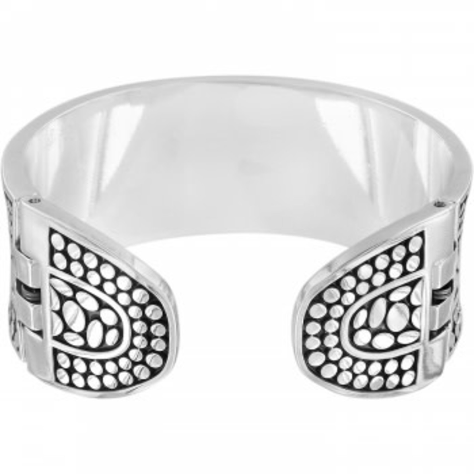 Brighton Pebble Double Hinged Bangle