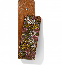 Brighton Christo Narrow Strap Floral Brown-Cognac