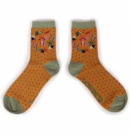 Powder Ladies Ankle Socks Autumn Squirrel