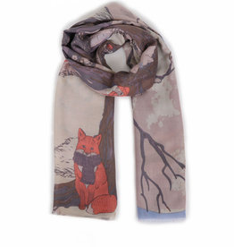 Powder Print Scarf Winter Chums